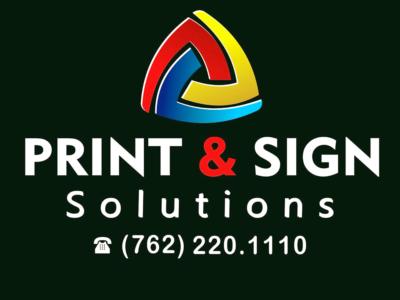 PRINT & SIGN SOLUTIONS Lake Oconee